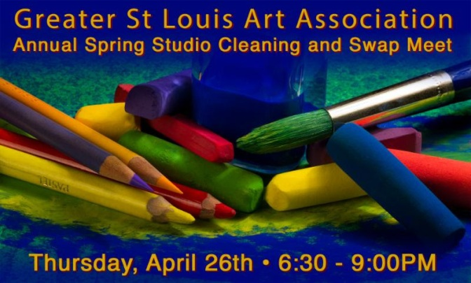 Spring Studio Clean Out and Swap Meet