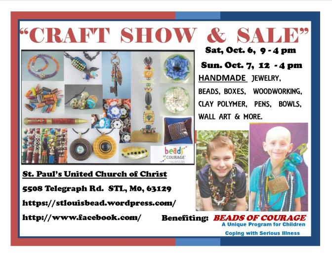 Glass Galore Bead Show and Sale 10/6/2018 – 10/7/2018
